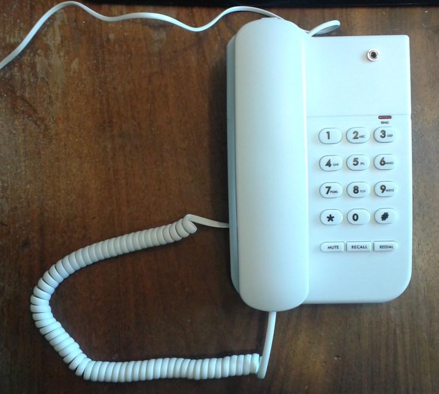 Simple Landline Telephone Recording Adaptation